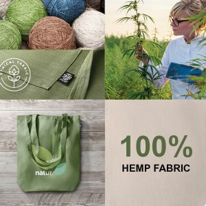 Printed Hemp Bags